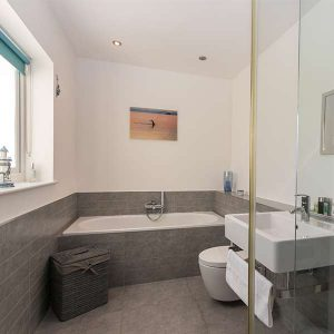 Modern Bathroom - Kokopelli - Sidmouth, Devon Holiday Cottage