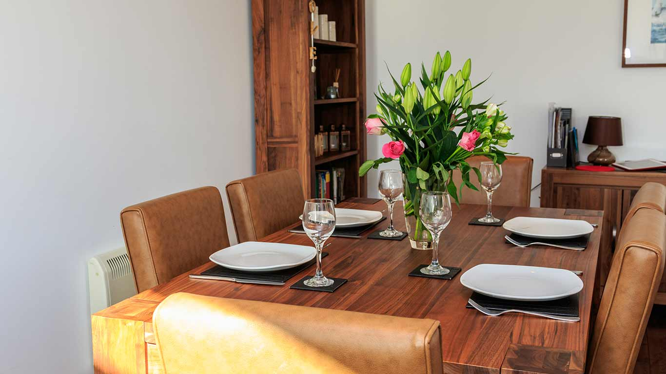 Kokopelli Holiday Cottage In Sidmouth - Dining Area