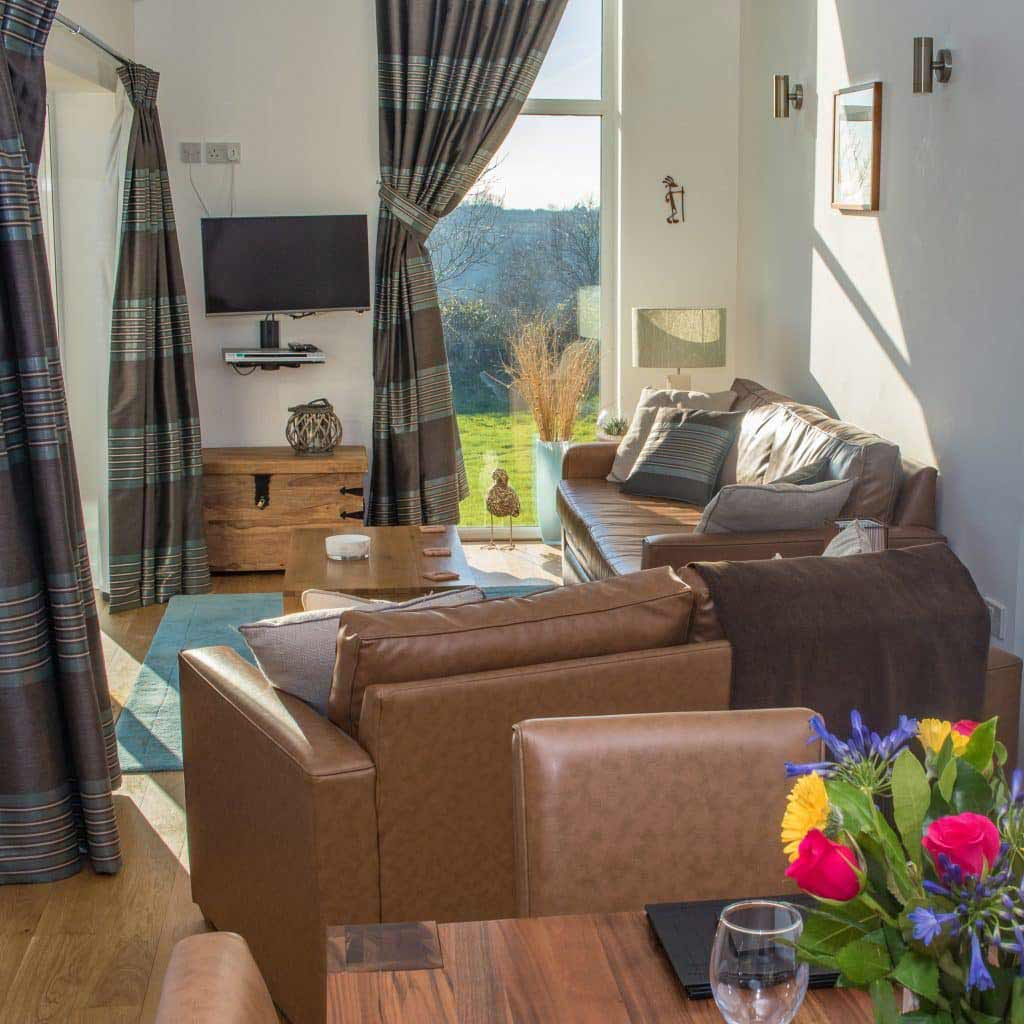 Cottage Living Room Photo - Kokopelli Holiday Cottage in Sidmouth, Devon